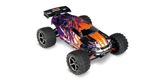 RC Car Traxxas E-Revo VXL purple 4WD 1:16 RTR