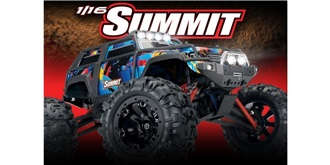 RC Car Traxxas Summit 1:16 RTR