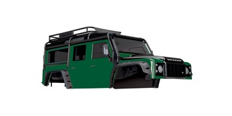 TRX-4 Defender Karosserie lackiert grün