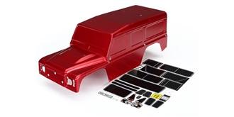 TRX-4 Defender Karosserie lackiert rot