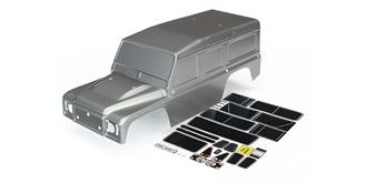 TRX-4 Defender Karosserie lackiert grau
