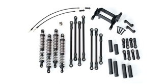 TRX-4 Long Arm Lift Kit schwarz Traxxas