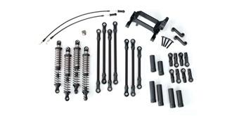 TRX-4 Long Arm Lift Kit schwarz Traxxas
