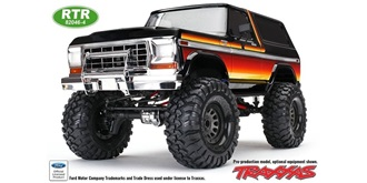 RC Car Traxxas TRX-4 Ford Bronco 1:10 RTR