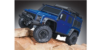 RC Car Traxxas TRX-4 Land Rover Defender blau 1:10