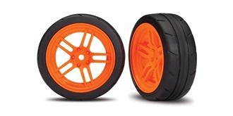 Reifen Traxxas 26mm 1:10 orange