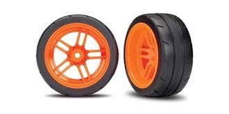 Reifen Traxxas 30mm 1:10 orange