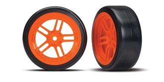 Reifen Drift Traxxas 26mm 1:10 orange