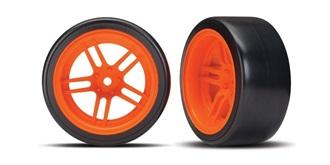 Reifen Drift Traxxas 30mm 1:10 orange