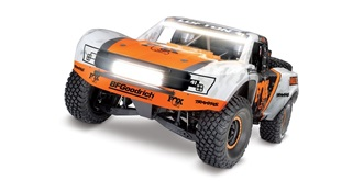 RC Car Traxxas Desert Racer orange FOX 4WD RTR