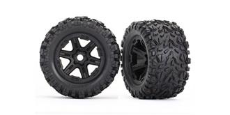 Tires & wheels, assembled, glued (bla ck wheels,..