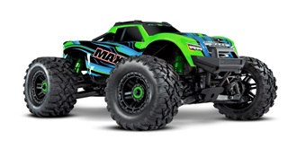 RC Car Traxxas MAXX 4WD 1:10 green RTR