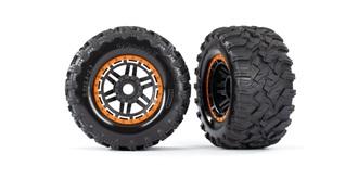 MAXX Reifen MT Beadlock Felgen orange 17mm 2St