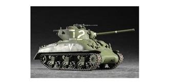 Trumpeter Panzer M4A1 W Medium Tank 1:72 Kit Pla..