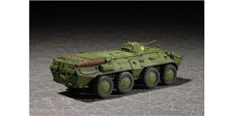 Trumpeter Rad Panzer BTR-80 APC 1:72 Kit Plastik