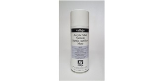 Vallejo Spraydose Klarlack Matt 400ml