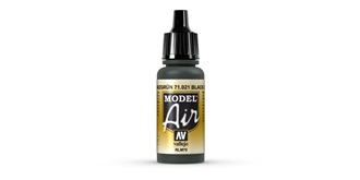 Vallejo MA Black Green 17 ml.