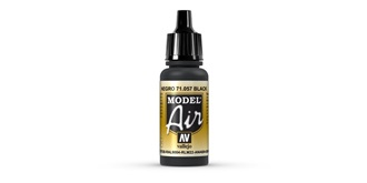 Vallejo MA Black 17 ml.