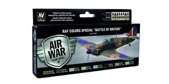 Vallejo MA Set RAF Battle of Britain 8x 17ml