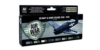 Vallejo MA Set US Navy & USMC 1940-45  8x 17ml