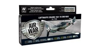 Vallejo MA Set Luftwaffe 1941 to end War 8x 17ml