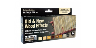 Vallejo MA Set Old an New Woods effects 8x 17ml