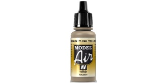 Vallejo MA Yellow Brown 17ml