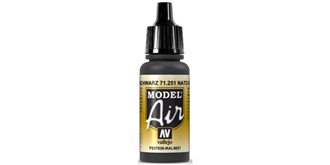 Vallejo MA NATO Black 17 ml.