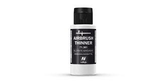 Vallejo AU Airbrush Thinner 60 ml.