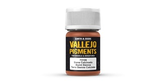 Vallejo PI Burnt Sienna 30 ml.