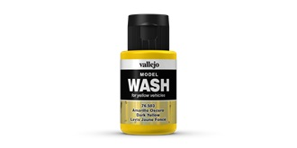 Vallejo MW Dark Yellow Wash 35 ml.