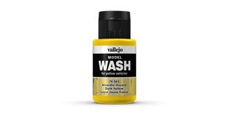 Vallejo MW Dark Yellow Wash 35 ml.