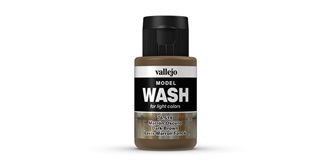 Vallejo MW Dark Brown Wash 35 ml.