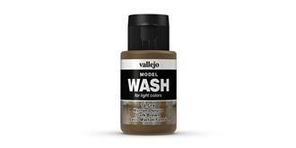 Vallejo MW Dark Brown Wash 35 ml.
