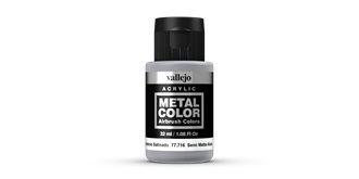 Vallejo MC Semi Matte Aluminium 32ml