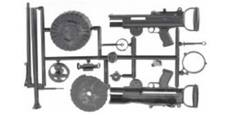 Lewis MG MK IV 1:6 Kit Plastik