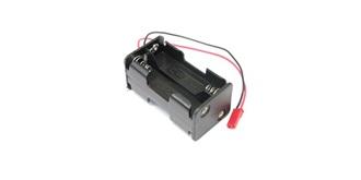 Batteriebox 4x AA Zellen, Würfel, BEC/JST Stecker