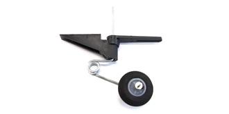 Spornfahrwerk Kunststoff 60mm