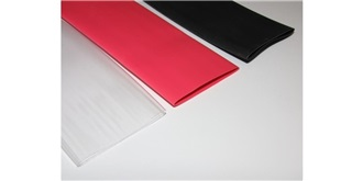 Schrumpfschlauch 25.0mm rot 1m