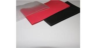 Schrumpfschlauch 80,0mm rot l=1m