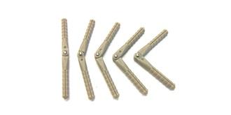 Ruderscharnier Stift 4.5x67mm  5St