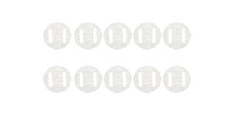 Ruderscharnier Gewebe (Patent) d=20x0,3mm 10St