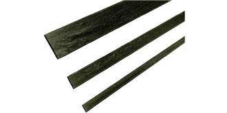 CA-3  Carbon Stab flach  6 x 1 mm l=1.0m
