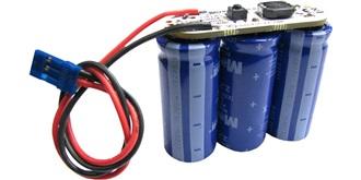 Empfänger Buffer-Pack Speicher-Kondensator 3x50F..