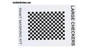 Maskierfolie XXXmain Large Checkers
