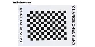 Maskierfolie XXXmain X Large Checkers
