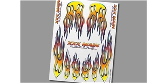 Decor xxxMain Sticker Pro Flames