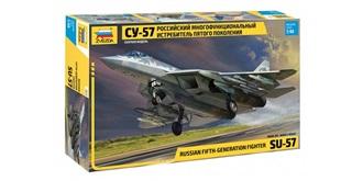 ZVEZDA Sukhoi Su-57 1:48 Kit Plastik