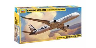ZVEZDA Airbus A350-1000 1:144 Kit Plastik