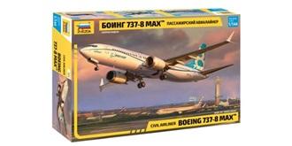 ZVEZDA Boeing 737-8 MAX 1:144 Kit Plastik